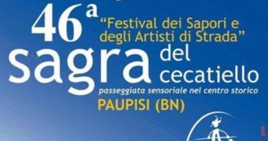 Festival dei Sapori e degli Artisti di Strada – 46° Sagra del cecatiello – PAUPISI