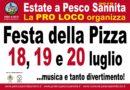 Festa Della Pizza – Pesco Sannita