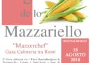 Sagra de lo Mazzariello – Gara Culinaria tra Rioni – Buonalbergo (BN)
